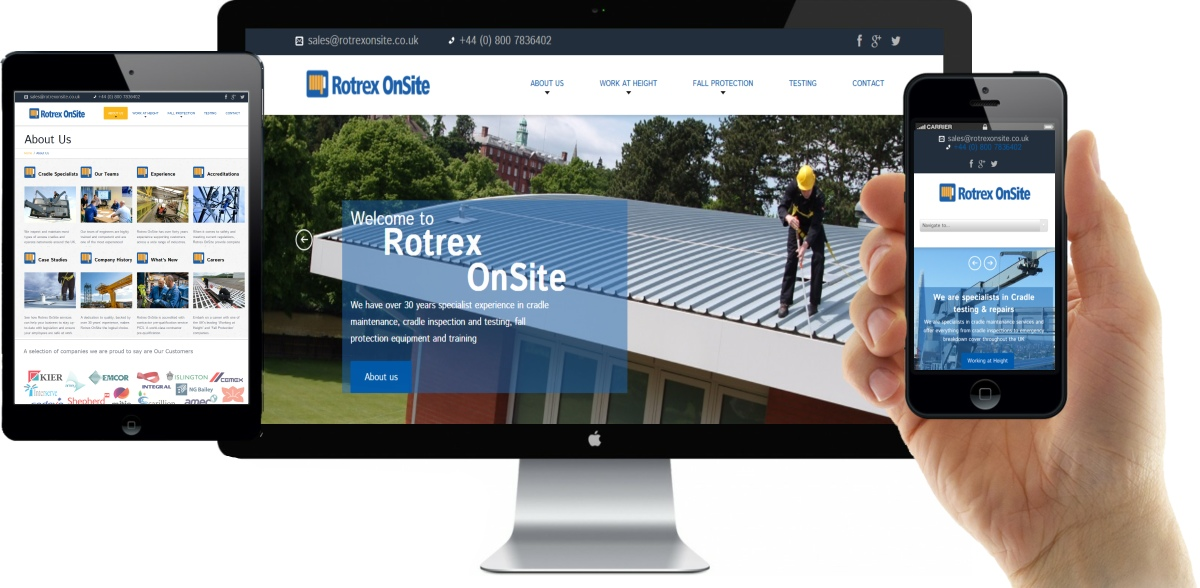 Onsite Responsive Website