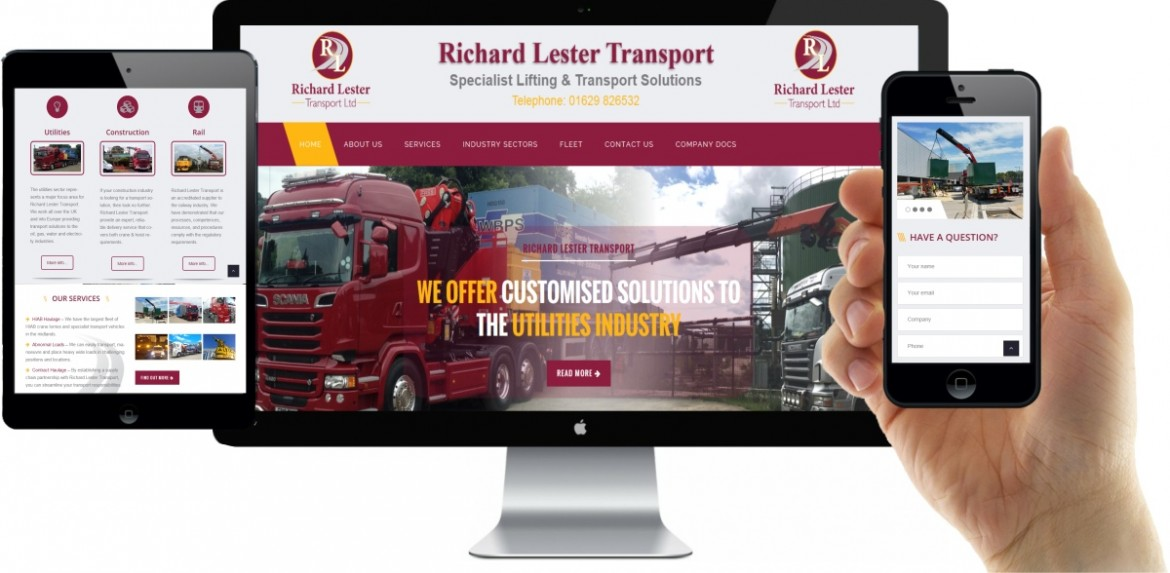 Richard Lester Transport Website