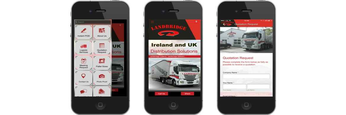 Landbridge Logistics App